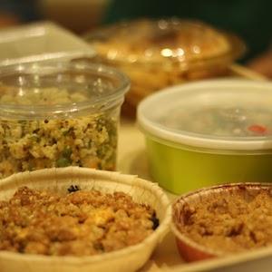 Salade et crumbles bio - Salon Chrysalide