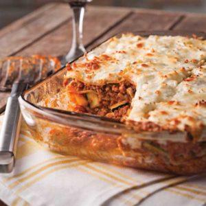 Lasagnes boeuf et légumes