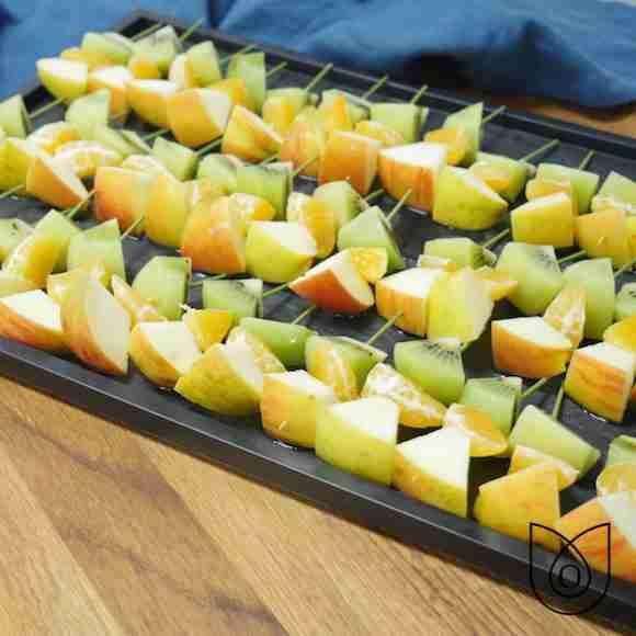brochette de fruits de saison