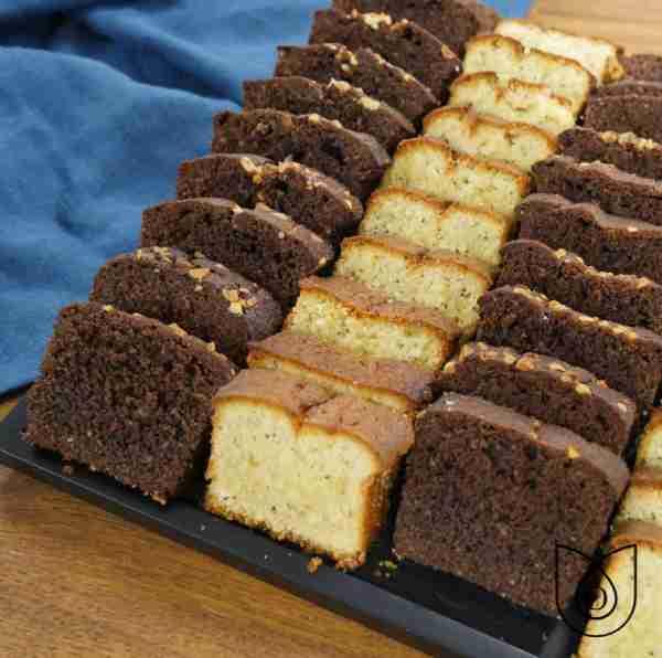 duo cakes sucrés