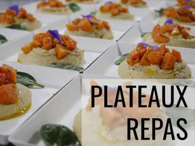 Lien page plateaux repas