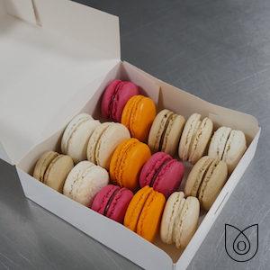 Boîte de 15 macarons maison