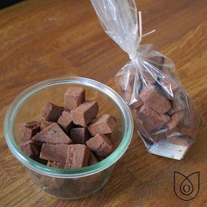 Truffes chocolat bio et praliné