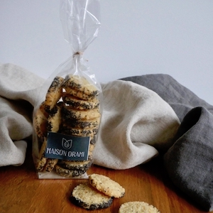 Biscuit cantal moutarde